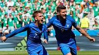 Griezmann giúp Pháp thắng ngược Ireland, vào tứ kết