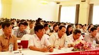 Đảng ủy Khối CCQ tỉnh: Học tập, quán triệt Nghị quyết Đại hội lần thứ XII của Đảng
