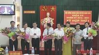HĐND huyện Nam Đàn bầu các chức danh chủ chốt