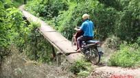 Những cây cầu 'đáng sợ' ở Anh Sơn