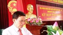 Ông Trần Văn Cương tái đắc cử Chủ tịch HĐND huyện Diễn Châu