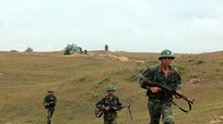 Sư đoàn 324 diễn tập thực binh có bắn đạn thật