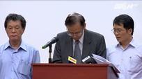 [Video] Người đứng đầu Formosa Hà Tĩnh xin lỗi vì gây ra vụ cá chết hàng loạt