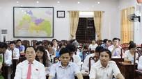 Ông Lê Tiến Trị trúng cử Chủ tịch HĐND thị xã Thái Hòa