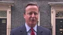 Thủ tướng Anh hát ngân nga sau tuyên bố từ chức