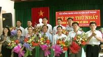 Ông Lữ Đình Thi được bầu giữ chức Chủ tịch HĐND huyện Quế Phong