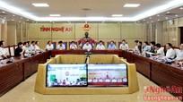 Chính phủ họp trực tuyến thường kỳ: Nhiều đề xuất thiết thực từ các địa phương