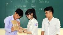 Nghệ An: 185 thí sinh bỏ thi môn Toán
