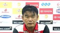 HLV Phan Thanh Hùng đổ lỗi cho lịch thi đấu sau trận thua SLNA