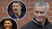 Mourinho đắc ý với song sát Ibra - Rashford