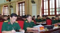 Bộ CHQS tỉnh quán triệt, triển khai thực hiện Nghị quyết Đại hội XII