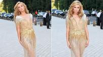 Paris Hilton phô vòng ba trong váy mỏng