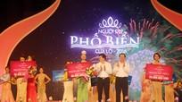 Thí sinh Đào Thị Hà giành danh hiệu Người đẹp phố biển Cửa Lò 2016
