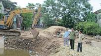 Dự án xây kè kênh Dâu chậm, môi trường ô nhiễm nghiêm trọng