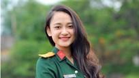 Nữ thiếu úy quân đội giành ngôi vị cao cuộc thi 'Người đẹp phố biển'