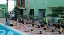 Hoàng Mai: Mở lớp dạy bơi cho thiếu nhi