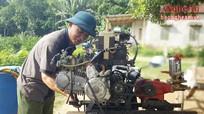 Nông dân Quỳ Hợp sáng chế máy phun thuốc BVTV từ phế liệu