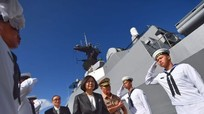 Đài Loan điều tàu hộ vệ tên lửa ra Biển Đông sau phán quyết 'đường lưỡi bò'