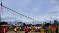 Giải bóng chuyền nữ tại Lễ hội đền Chọong thu hút 228 VĐV tham gia