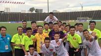 Thắng trận thứ ba liên tiếp, U16 Việt Nam dẫn đầu bảng A