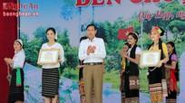 Trao giải tổng kết Lễ hội đền Choọng năm 2016