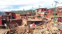 Trung Quốc dỡ nhà của tăng ni ở Học viện Phật giáo lớn nhất Tây Tạng