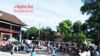 Anh Sơn: Gần 350 VĐV tham gia giải bóng chuyền nữ truyền thống