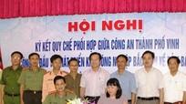 Nghệ An: Ký kết đảm bảo ANTT tại Khu công nghiệp Bắc Vinh