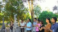 Ban Tuyên giáo Tỉnh ủy tri ân các anh hùng liệt sỹ