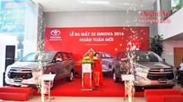 Toyota Vinh ra mắt sản phẩm Innova mới 2016