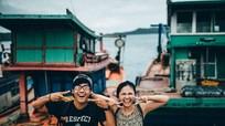 Ảnh cưới vui nhộn ở biển Việt Nam của chàng trai từ bỏ 'giấc mơ Mỹ'