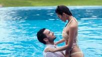 Chụp ảnh cưới với bikini, Hà Anh khoe thân hình bốc lửa