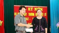 Đảng ủy Khối CCQ tỉnh thăm và tặng quà tại Tân Kỳ