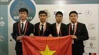 Việt Nam đoạt 2 Huy chương Vàng Olympic Hoá học quốc tế năm 2016