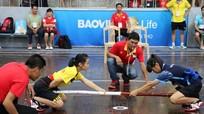 Nghệ An thắng tưng bừng trong ngày đầu thi đấu môn đẩy gậy