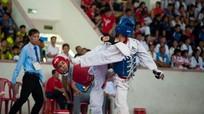 Gần 700 VĐV thi đấu đấu môn Taekwondo