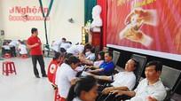 Quỳnh Lưu: Hơn 1.000 người tham gia ngày hội hiến máu tình nguyện