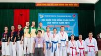 Nghệ An giành huy chương đồng Kata đồng đội nữ tại Hội khỏe Phù Đổng toàn quốc