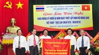 Giao lưu hữu nghị kỷ niệm 40 năm thiết lập quan hệ ngoại giao Việt Nam – Thái Lan