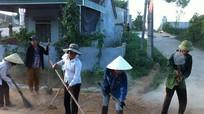 Giáo dân Hùng Sơn hưởng ứng ngày vì môi trường