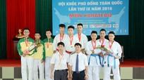 Bế mạc Giải Karatedo Hội khỏe Phù Đổng toàn quốc 2016
