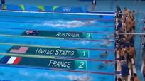 Michael Phelps giành HC vàng 4x100m tự do