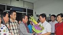 60 du khách Thái Lan đến Nghệ An qua đường bay Bangkok - Vinh