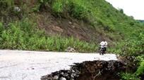 Báo động tình trạng xuống cấp tuyến đường Hữu Lập - Bảo Nam