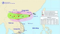 Bão số 3 giật cấp 14, hướng thẳng vào các tỉnh Quảng Ninh đến Nghệ An