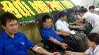 Thái Hòa: Trên 1.100 người tham gia hiến máu tình nguyện