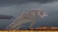 Sét hình khủng long bạo chúa rạch ngang bầu trời Mỹ