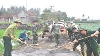 Xã Quỳnh Thuận phấn đấu nâng cao chất lượng các tiêu chí nông thôn mới
