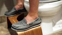 Làm giàu nhờ ghế kê chân trong toilet
