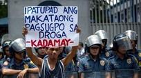 Tổng thống Philippines: Kẻ dùng ma túy không phải con người